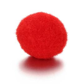 Parfum sponsje 13mm rood