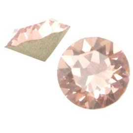 2 x Swarovski Elements SS24 puntsteen (5.2mm) Vintage rose