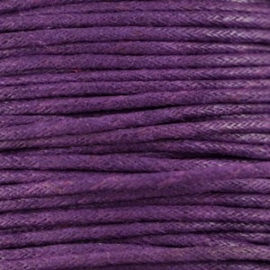 10 meter Waxkoord 1.5 mm Purple