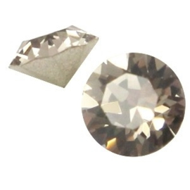 2 x Swarovski Elements SS24 puntsteen (5.2mm) Greige