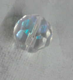 3 x mooie Facet kraal AB 15,5 mm Gat: 1mm