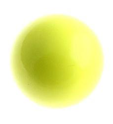 Klankbolletje 20mm voor een Engelenroeper licht geel