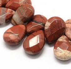 Per stuk Prachtige  Faceted Drop Natural Rainbow Stone kraal 18 x 13 x 6 mm gat: 1,5mm