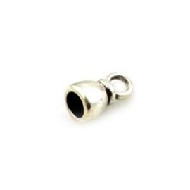 2x DQ Eindkap 13x7.5 mm voor 5 mm leer of koord
