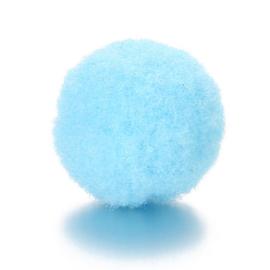 2x Parfum sponsje 13mm licht blauw