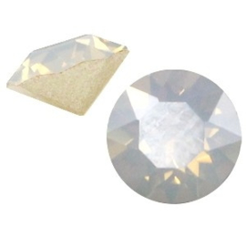 2 x Swarovski Elements SS24 puntsteen (5.2mm) Light grey opal