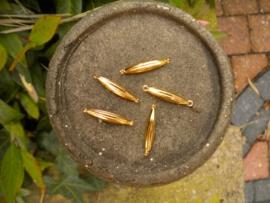 5 stuks metalen tussenzetsels 27 x 5 mm
