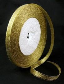 2meter goud lint 6mm