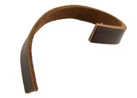 20 cm echt runder lederen band  6 x 2,5mm