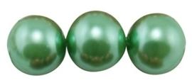 30 x prachtige glasparel kleur: Aquamarine 8mm
