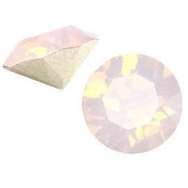 2 x Swarovski Elements SS24 puntsteen (5.2mm) Rose water opal