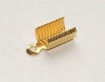 10 stuks gold plated veterklemmen 13mm