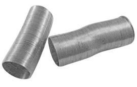 Memory Wire voor ringen  nikkelkleurig 40 wendingen 20mm