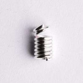 10 stuks metalen veer veterklemmen 7 x 4mm
