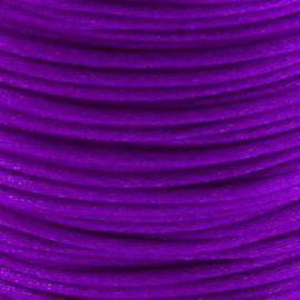 2 meter Macrame Satijndraad 1.0 Amethyst Purple