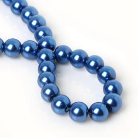 30 x Glasparel blauw 8mm