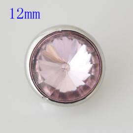Drukker Crystal Metal stone pink