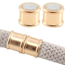 Basic quality metalen magneetslot Ø10mm Light rose gold