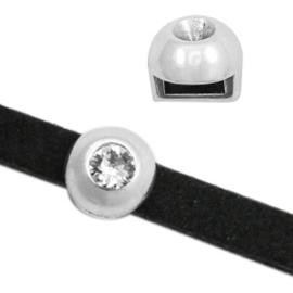 1 x Schuivers DQ metaal Ø 5.2x2.2mm voor (voor PP32 puntsteen 4mm)