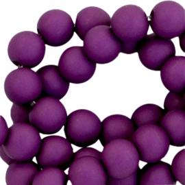 40 x 6 mm acryl kralen Royal purple