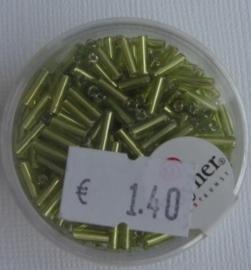 Rayher Glasstaafjes licht groen 16 gram 7/2mm