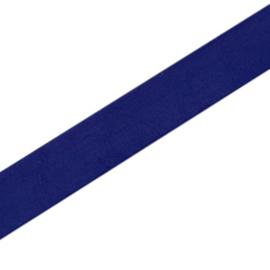 20 cm Basic quality leer plat 10mm Donker blauw