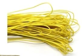 10 meter waxkoord 1,5mm dik kleur:  mais geel