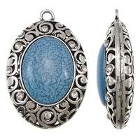 Prachtige Tibetaans zilveren hanger voor bijvoorbeeld een sjaal of ketting  50 x 76 x 25mm, Gat: c.a. 6mm