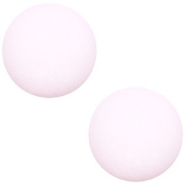 1x Cabochon Polaris Elements matt 7mm Pastel pink