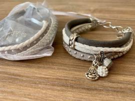 Workshoppakket DIY armband Buddah