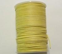 3 meter waxkoord 2mm geel