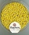 Rayher Rocailles Opaque 17 gram 2,6 mm Mat Geel