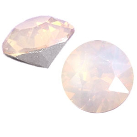 2 x Swarovski Elements SS29 puntsteen (6.2mm) Rose water opal