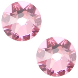 2 x Swarovski Elements 2088-SS34 flatback Xirius Rose Light rose ca 7 mm (SS34)