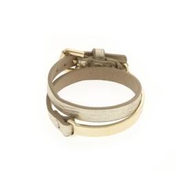Biba Armband Imiatie Leer Goud
