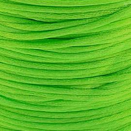 2 meter Macrame Satijndraad 1.0 Lime Green