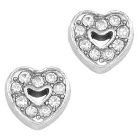 2 x Floating Charms Hartje 7 mm