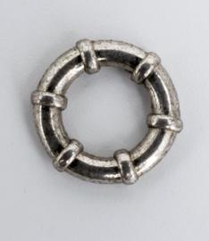 10 X Nikkel boei-ring 7,3 mm x 11,5 mm
