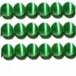 20 stuks prachtige cateye kralen 4mm groen