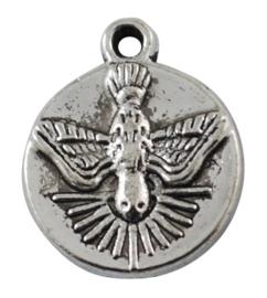 4 x Houder Y: Prachtige Cabochon houder. Binnenzijde: 10mm tibetaans zilver
