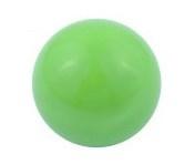 Klankbolletje 16mm voor een Engelenroeper licht groen