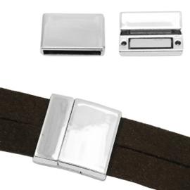 Magneet sloten basic quality metaal Ø20.2x3.4mm Antiek zilver