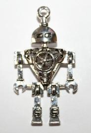 Bedel robot is een open gewerkte bedel van ongeveer 46x25 mm