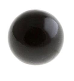 Klankbolletje 16mm voor een Engelenroeper zwart