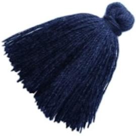 2 x kwastje montana blue 3 cm