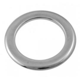 5 x gesloten metalen ring 28mm x 2mm