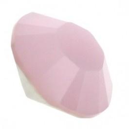 5 x Puntsteen half rond preciosa voor puntsteen SS39 setting 8 mm opal roze
