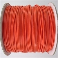 10 meter waxkoord 1,5mm dik kleur: dark orange