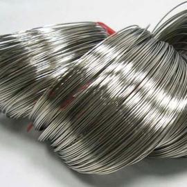 Memory Wire voor armbanden 60 mm x 0,8mm platinum 40 wendingen (nikkel vrij)