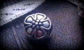 Per stuk european style bloemmotief 12 mm